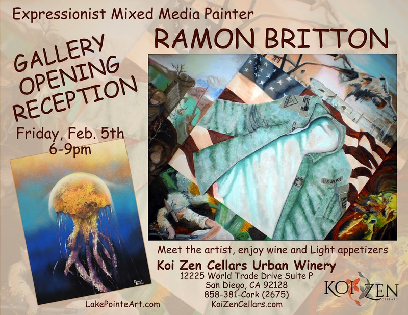 Local Artist - Ramon Britton Flyer