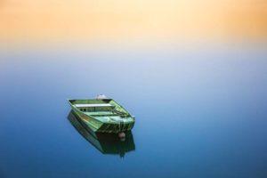 Floating boat