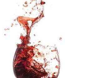 wine glass swirling