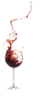 wine glass swirling