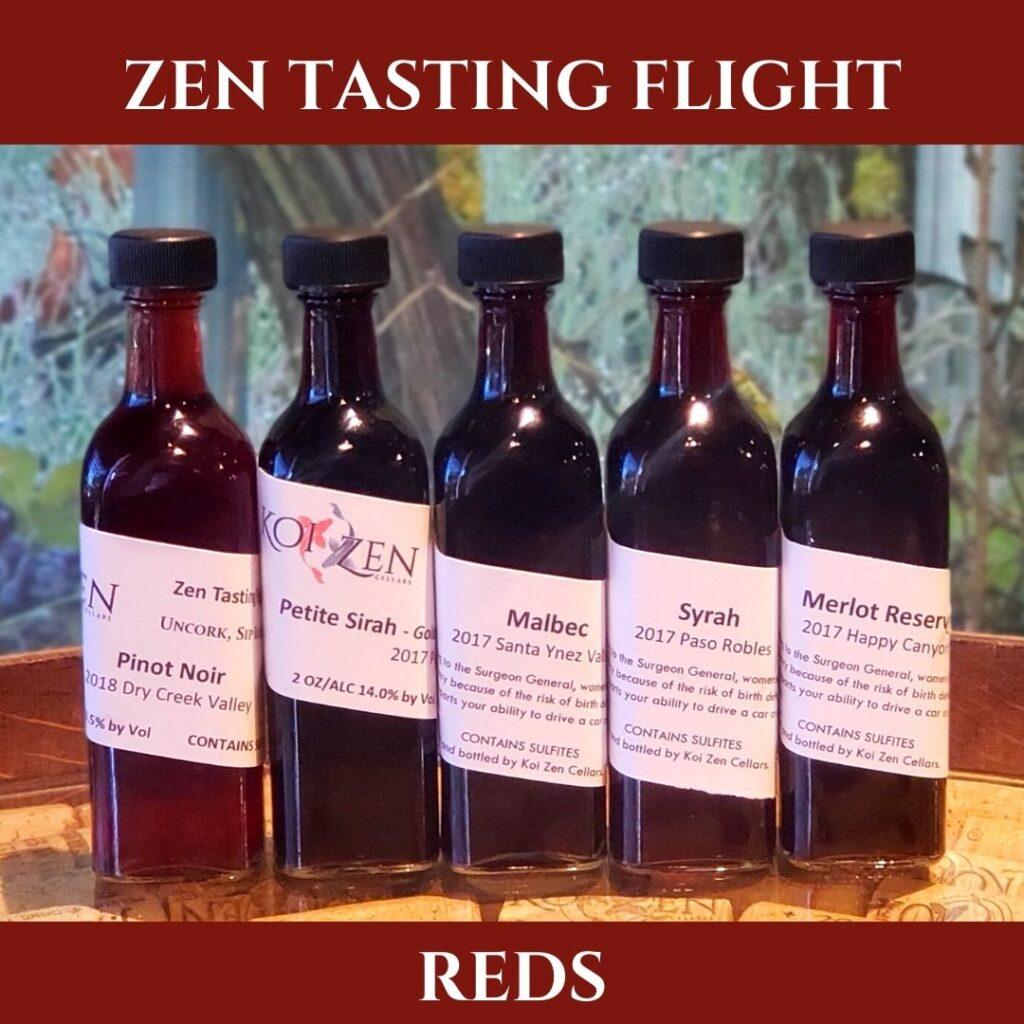 Zen Wine Flights - Red